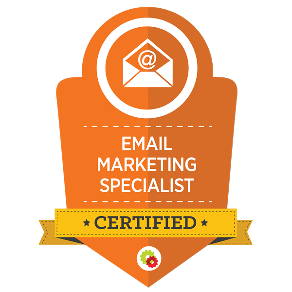 Certified Email Marketing Specialist badge