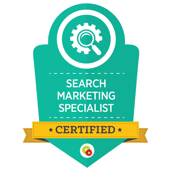 Certified Search Marketing Specialist badge